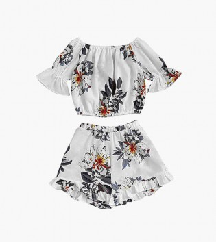 Women Designer Cotton Crop-Top